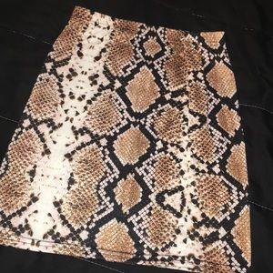 two piece snake skin set 🐍